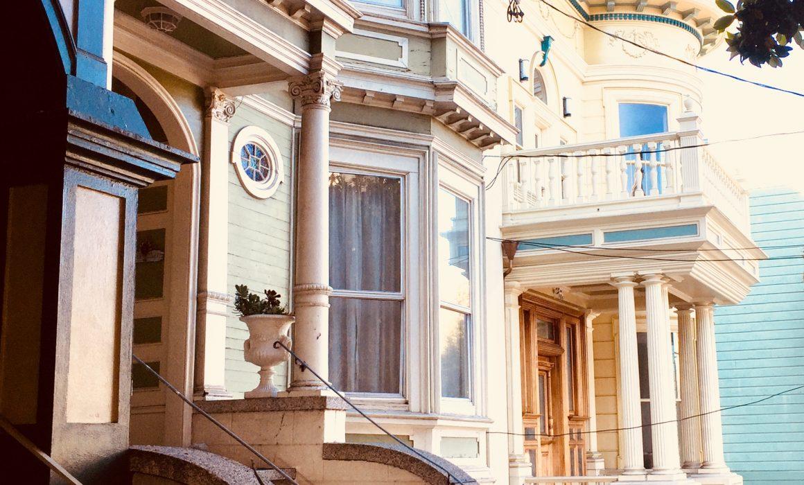 San Franciscos charmante Schönheiten