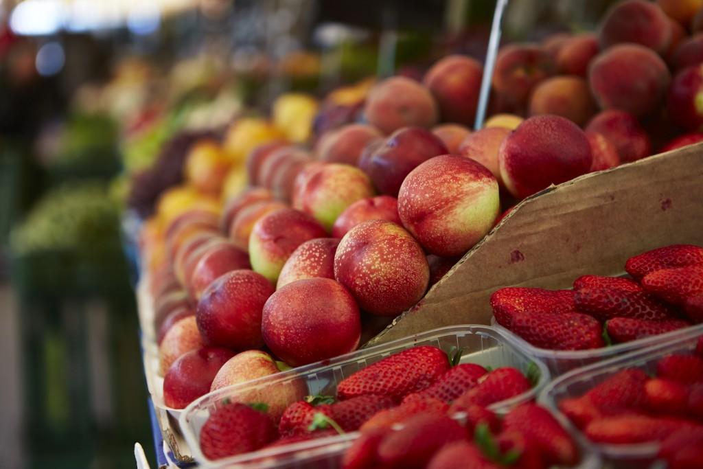 Obst am Markt